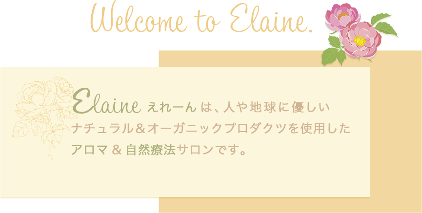 Welcome to Elaine.